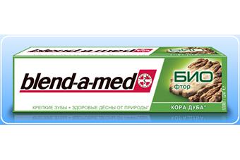 Зубная паста Blend-a-med Био Фтор Кора дуба оптом