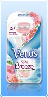 Станок Gillette Venus SPA Breeze оптом