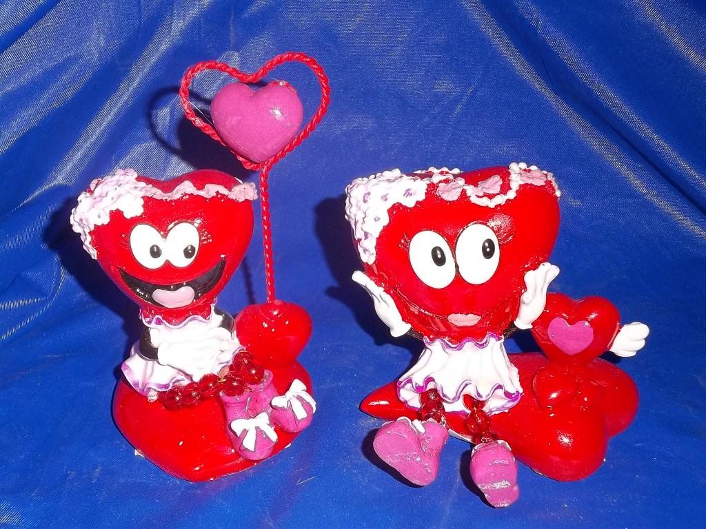 10-1282 (7703В)  Подставка д/записей  Сердечко, 10-1284 (7717А)   Сердце  Девочка оптом