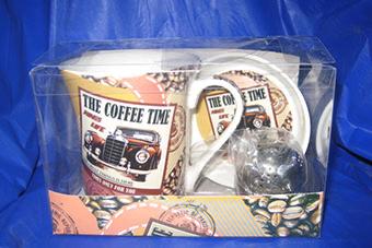 51-855 набор чайный с ситом Coffee Time