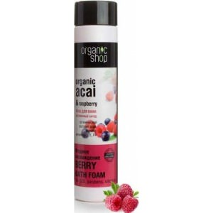 Organic Shop Пена для ванн Витаминный заряд Ягодное наслаждение