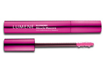 Тушь Lumene Raspberry Miracle 2в1