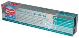 Зубная паста 32 Бионорма Комплексное оздоровление