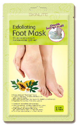 Отшелушивающая маска-носки для ног SL275