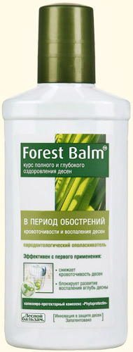 Ополаскиватель «Forest Balm» «В период обострений кровоточивости и воспаления десен»