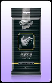 Влажные салфетки Вестар АВТО для рук 20шт оптом.
