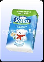УМКА Детское мыло с протеинами молока и алоэ вера 80 г оптом.