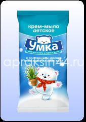 УМКА Детское мыло Ромашка и Череда 80 г оптом.