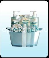 Подарочный косметический набор Золотая Лилия и Белый Жасмин оптом. Артикул - 1417LJ.