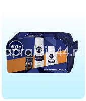 Набор мужской подарочный Nivea (Нивея) Для чувствительной кожи в косметичке оптом.