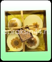 Подарочный набор солей ручной работы Alvin D'or Шипучие Тортики и Гейзеры № ADBF-08 оптом.