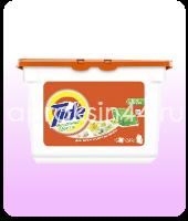 Гель-капсулы жидкие для стирки Tide (Тайд) Детские Для белых и цветных вещей 16 шт х 35 г оптом.