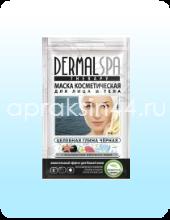Маска косметическая для лица и тела Dermal SPA (Дермал СПА) Черная глина и минералы Мертвого моря 30 мл оптом.