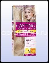 Крем-краска для волос L'Oreal Casting Creme Gloss (Лореаль Кастинг Крем Глосс) Светло-светло Русый Пепельный № 1010 оптом.