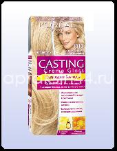 Крем-краска для волос L'Oreal Casting Creme Gloss (Лореаль Кастинг Крем Глосс) Светло-светло Русый Бежевый № 1013 оптом.