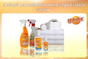 Жидкий пятновыводитель спрей UDALIX оптом